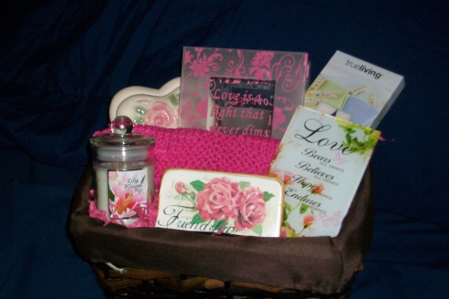 Women's gift basket